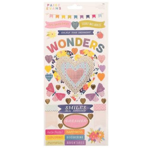 Wonders-6x12 Sticker Sheet