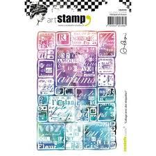 Carabelle Studio Art Stamp-avec des etiquettes