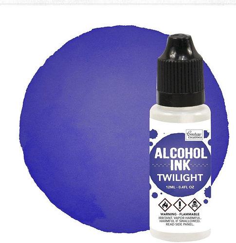 Alcohol Ink Twilight