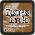 Ranger Distress Ink- Vintage Photo