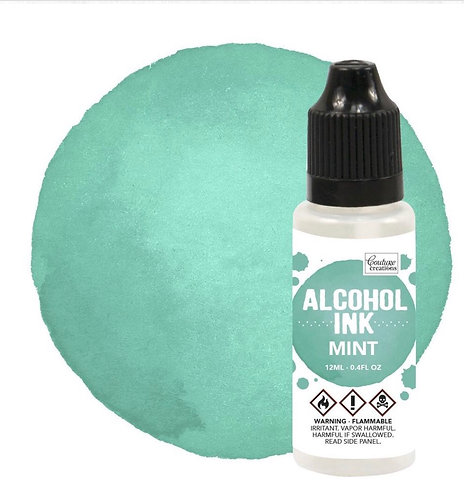Alcohol Ink Mint