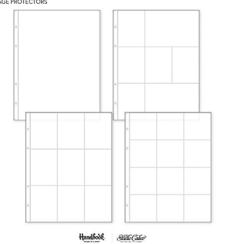 9x12 Page Protectors -Studio Calico