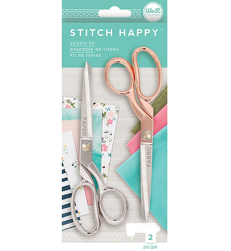 Stitch Happy Scissors-2 pack- WeRmemory keepers