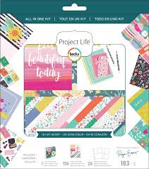 Oh My Heart-All In One Project Life Kit