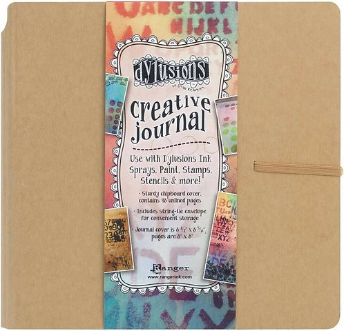 Dylusions Art Journal- 8x8 Square