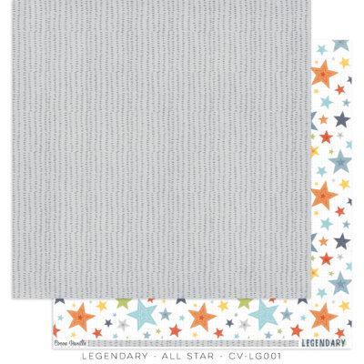 All Star Legendary 12x12 paper