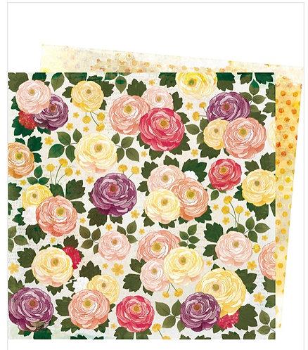 Fresh cut- Storyteller Vicki Boutin 12x12 patterned paper