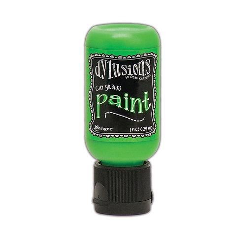 Dylusions Paint- Cut Grass