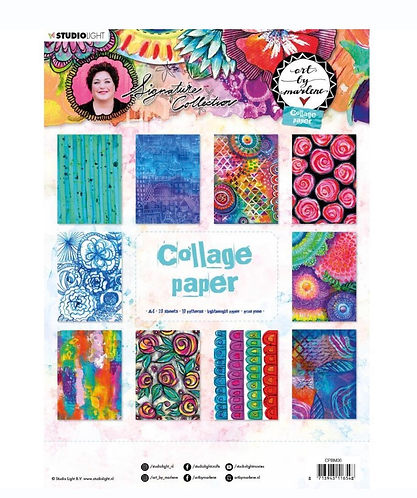 A4 Collage paper- Art by Marlene