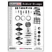 Grunge Marks Rubber Stamps