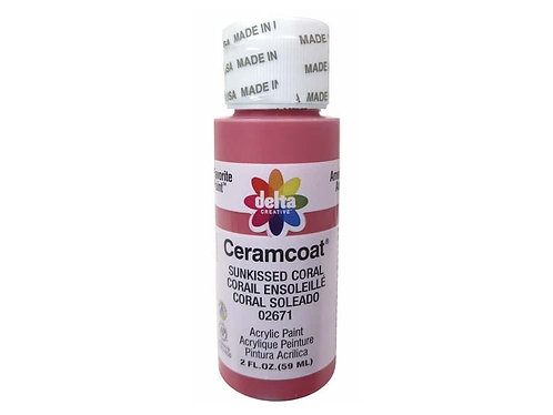 Sunkissed Coral Ceramcoat Paint