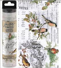 Tim Holtz Collage Paper-Aviary