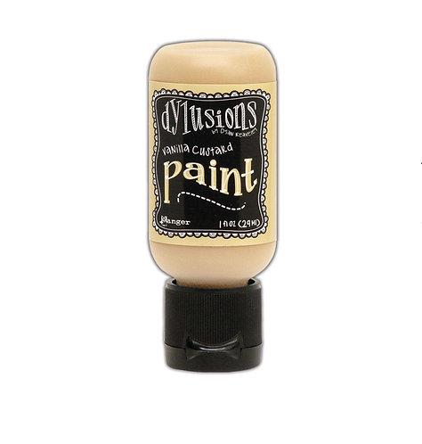 Dylusions Paint- Vanilla Custard