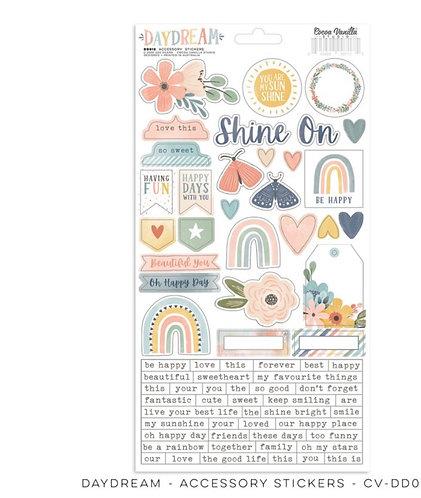 Daydream 6x12 accessory stickers