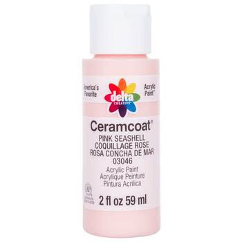 Pink Seashell Ceramcoat Paint