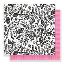 12x12 Flourish Paper- Good Vibes