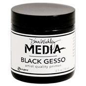 Dina Wakley Black Gesso