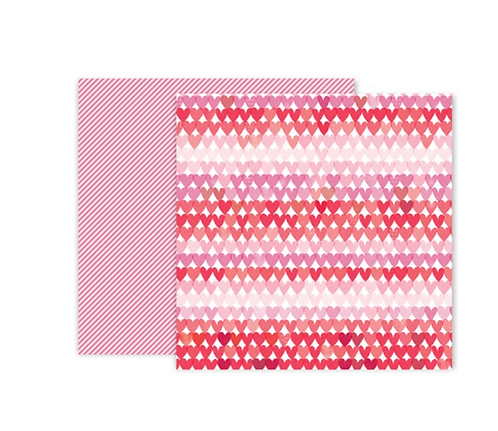#8 12x12 Double sided patterned paper -Lucky us