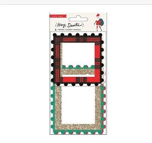 Frame Pack Hey Santa- Crate Paper