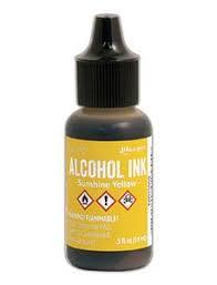 Tim Holtz Alcohol Ink-Sunshine Yellow