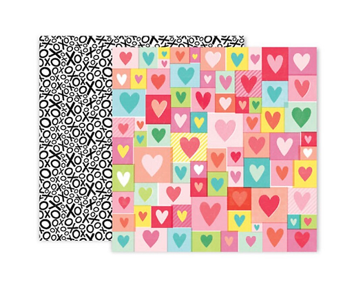 #4 12x12 Double sided patterned paper -Lucky us