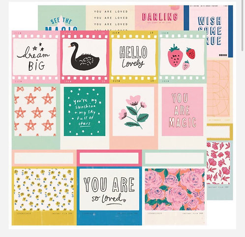 12x12 Confection Paper- Sweet Story