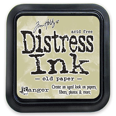 Ranger Distress Ink-Old Paper