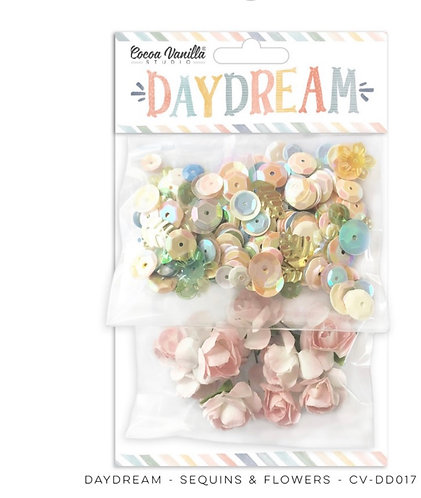 Daydream Sequins & Flowers Pack