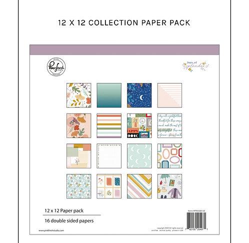 Days of splendor 12x12  paper pad