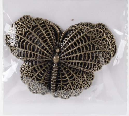 Bohemian Butterflies- Metal Charms
