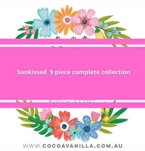 9 Piece collection Sunkiised