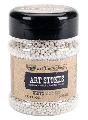Art stones-white medium