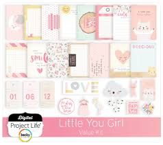 Project Life Value Kit- Little You- Girl