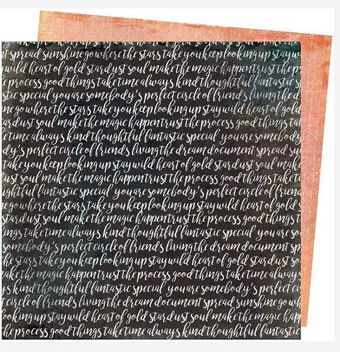 Memoir - Storyteller Vicki Boutin 12x12 patterned paper