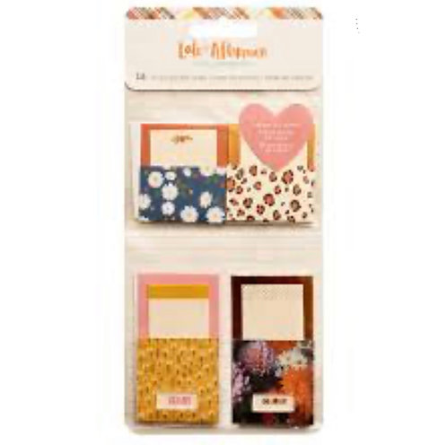 Pocket Notes Pack- Late Afternoon Amy Tangerine