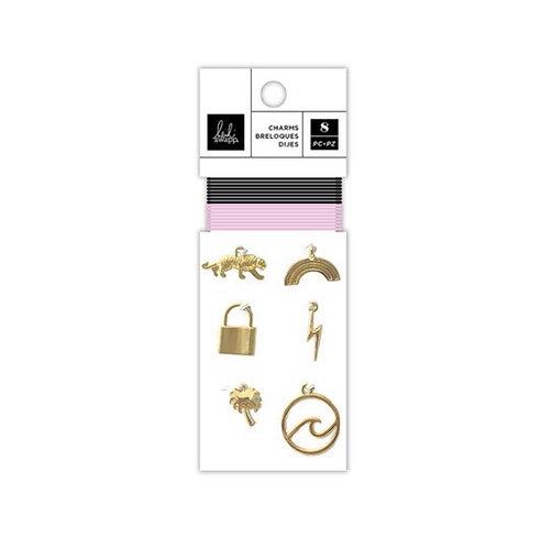 Old School Embellishment Charms Pack- Heidi Swapp