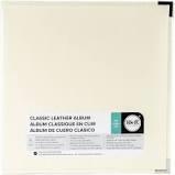 12x12 Vanilla Leather Album -3 Ring