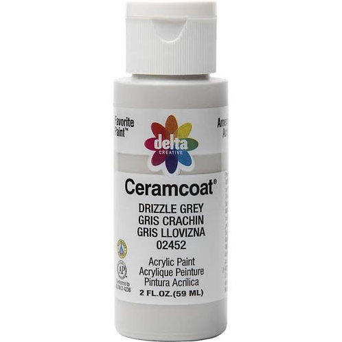 Drizzle Grey Ceramcoat Paint