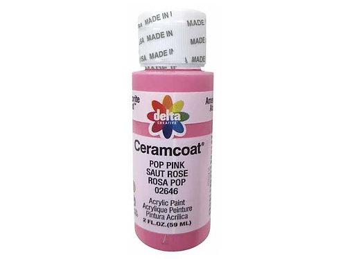 Pop Pink Ceramcoat Paint