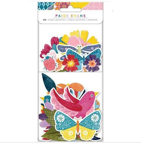 Wonders- Ephemera -Floral-Pack