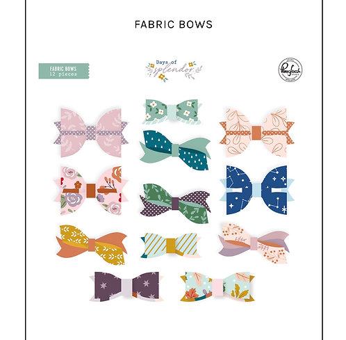 Days of Splendor Fabric Bows