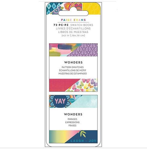 Wonders- Pattern Swatches