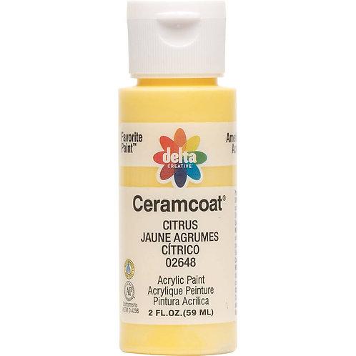Citrus Ceramcoat Paint