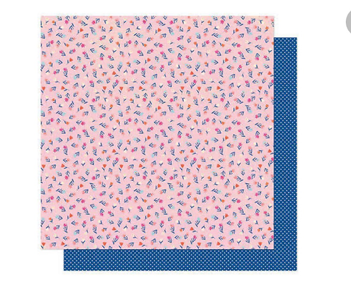 Now or Never 12x12 patterned paper she's magic