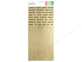 Creative devotions stickers