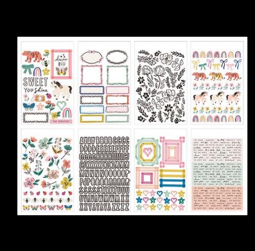 Sweet Story Sticker book