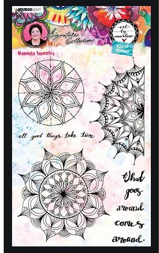 Marlene Stamp Mandala Tapestry STAMPBM48