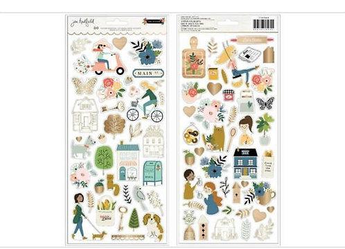 6x12 Sticker sheet- The Avenue