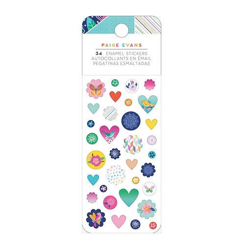 Go the Scenic Route enamel stickerPack- Paige Evans