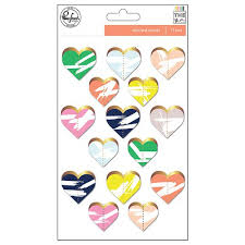 Stitched Hearts by Pink Fresh